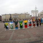 Фестиваль скандинавской ходьбы в Хельсинки 9 Октября 2010