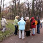 Фотоотчет о занятиях по скандинавской ходьбе (nordic walking) 31 Октября 2010