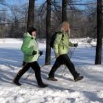 28 января, приглашаем на бесплатный мастер класс по технике скандинавской ходьбы в Таврический сад!
