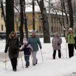 "Фотоотчет Nordic Walking для ""новичков"" в Таврическом, 5 Марта."