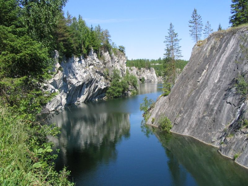 Приглашаем в путешествие в мраморный каньон Рускеала с 18 по 19 июня.