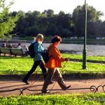 Бесплатный мастер-класс по скандинавской ходьбе 7 сентября в Таврическом саду, Санкт-Петербург.