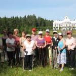 Выездная тренировка в Вырице 25 августа.