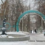 Москва. 19 января. Тренировка в Нескучном саду.