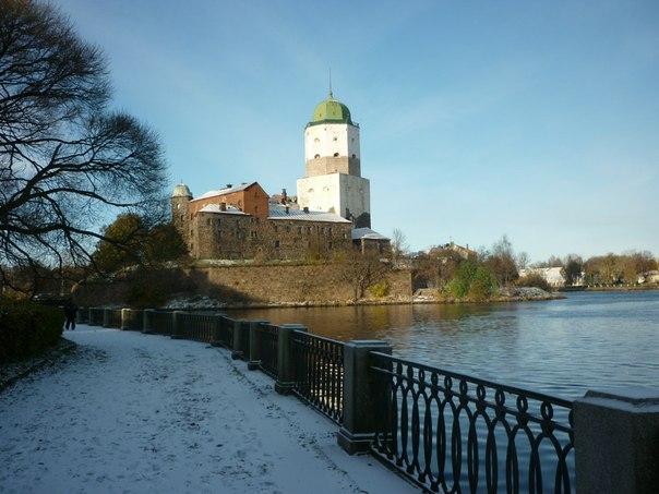 Суббота, 8 декабря, спортивно – познавательный  маршрут по улицам Выборга.