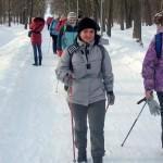 17 февраля- бесплатный мастер класс по скандинавской ходьбе на Ржевке! Приглашаем!