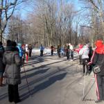 27 апреля, суббота -бесплатный мастер-класс по скандинавской ходьбе на Елагином ЦПКиО, Санкт-Петербург.