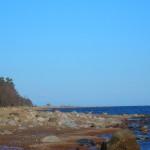 По берегу залива в районе форта Ино. 11 мая, в субботу.