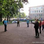 Тренировка по nordic walking для начинающих (вводное занятие) в Таврическом парке, во вторник