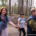 Как мы съездили в Лосево 6 августа, на crazy тренировку по nordic walking