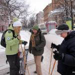 29 января 2011 в Таврическом садике – вводное занятие по скандинавской ходьбе.