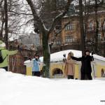 Фотоотчет с вводного занятия в Таврическом саду, 5 февраля