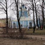 Обучение техникe настоящей финской ходьбы 16 апреля 2011 в Сампсониевском саду