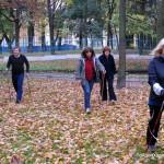 16 ноября, бесплатный мастер класс по скандинавской ходьбе в Таврическом саду, СПБ.