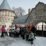В субботу 30 ноября – выездная  тренировка в Пушкин, СПБ.