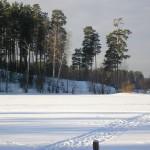 Походим у озера Красавица, 22 февраля, в субботу.