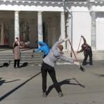 6 апреля, бесплатный мастер-класс по технике ходьбы на Елагином о-ве, СПБ.