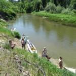 Москва 13-14 июня совмещает ходьбу и греблю!!! Путешествие по реке Киржач