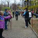 8.06.14 в 11.00 бесплатный мастер-класс по технике скандинавской ходьбы на ВВЦ в Москве.