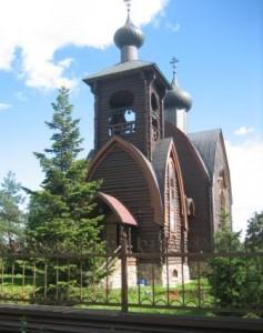 Воскресенская церковь. Арх. А. Сёмочкин.