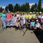 Москвичи о Международном марафоне Св.Олафа в Савонлинне!