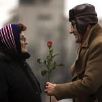 Пожилые люди и Скандинавская ходьба