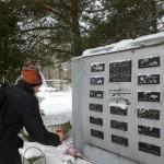 24.01 выездная тренировка по маршруту «Дорога жизни».13-16км