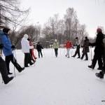 9 января, бесплатный мастер-класс по технике скандинавской ходьбе на Елагином ЦПКиО, Санкт-Петербург.