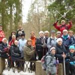 10 января выездная тренировка в Шуваловском парке.7-12км