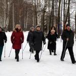 Скандинавская ходьба в Йошкар-Оле