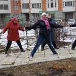 Моя мама – инструктор скандинавской ходьбы