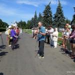 31.05.15 в 10.00 бесплатный мастер-класс по технике скандинавской ходьбы на ВВЦ в Москве.
