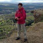 Любовь Якубович-Ясная инструктор скандинавкой ходьбы ONWF