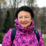Татьяна Момсякова инструктор скандинавской ходьбы ONWF