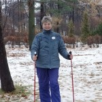 Нина Силюк, инструктор скандинавской ходьбы ONWF