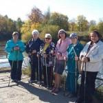15 ноября, мастер класс  и соревнования по скандинавской ходьбе в Йошкар-Оле!
