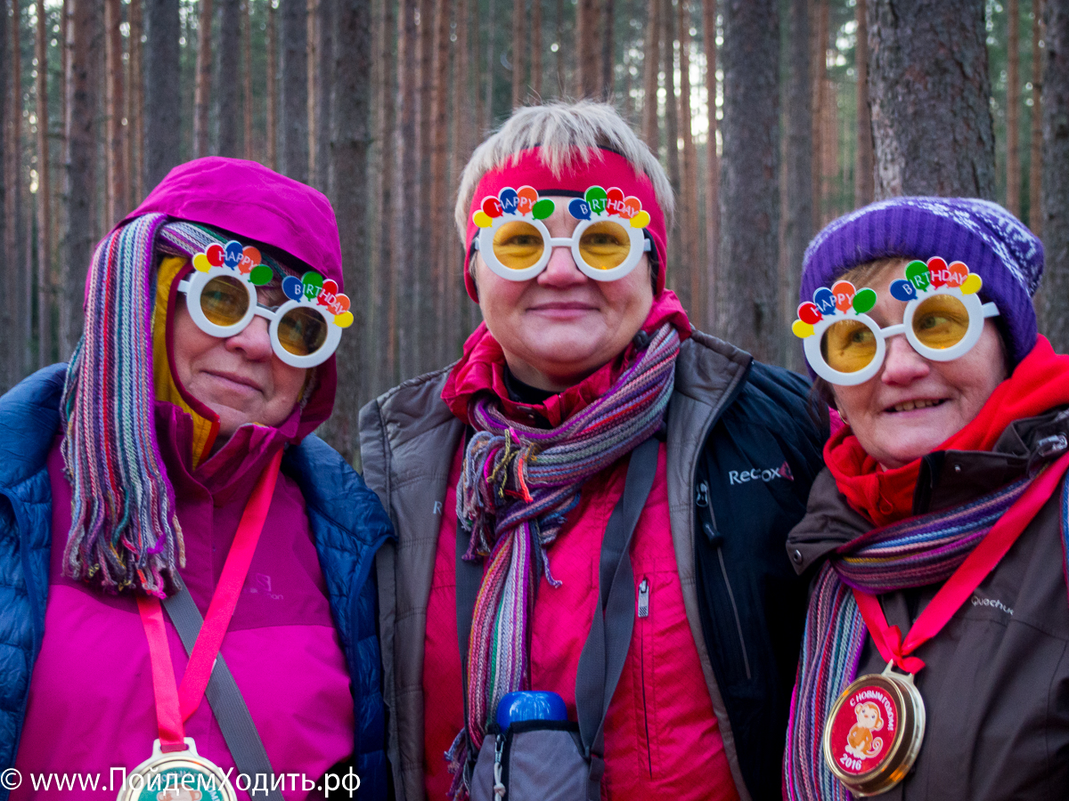Традиционный Новогодний Нордик Волкинг Рогейн
