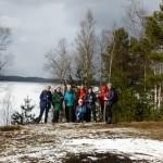 19 марта выездная тренировка по маршруту: Кузьмоловский карьер-Хепо-ярви.13-15км.