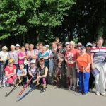 18 июня приглашаем на бесплатный мастер класс по скандинавской ходьбе в Южно-Приморском парке!
