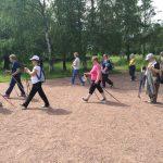 8 октября ждем всех желающих на открытый урок по скандинавской ходьбе в Южно-Приморском парке, Санкт-Петербург.