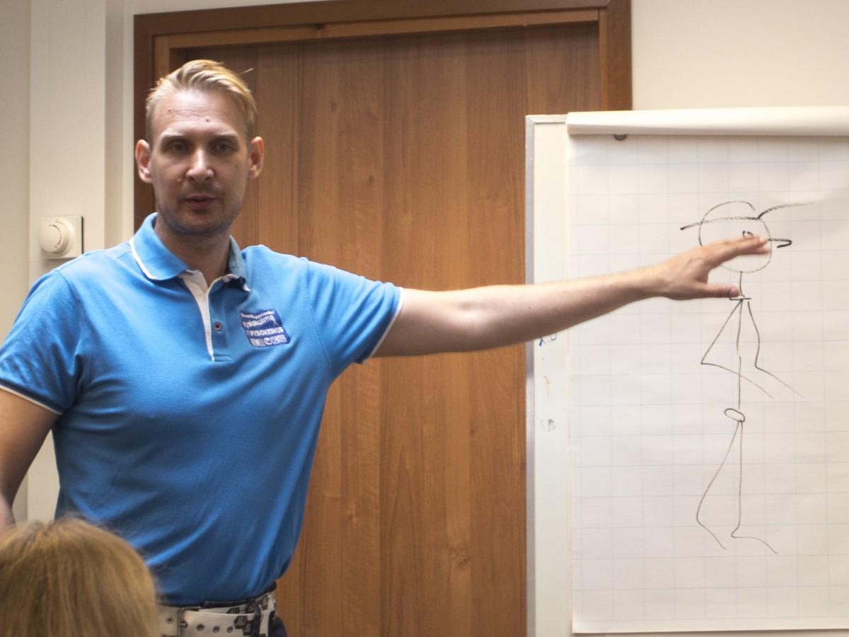 ONWF семинар Марко Кантанева по подготовке инструкторов и тренеров скандинавской ходьбы