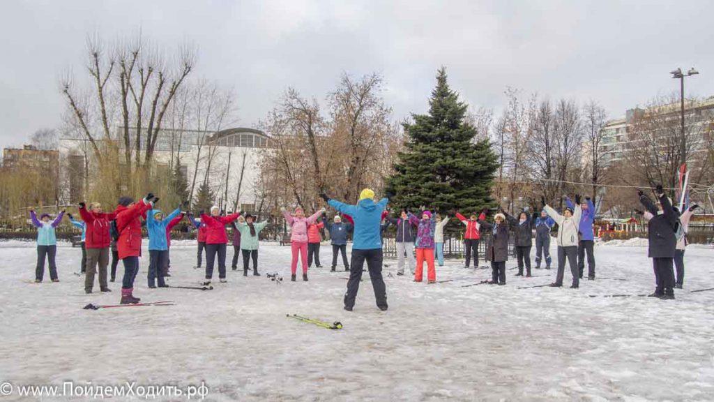 Семинар ONWF в Москве:Инструктор Скандинавской ходьбы