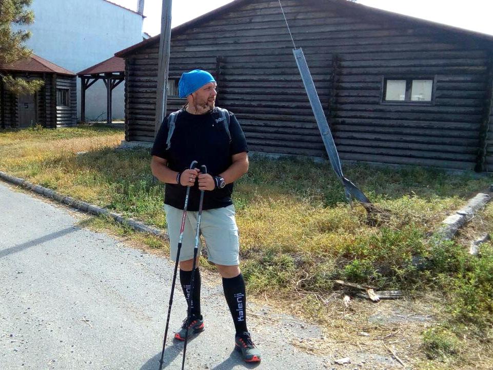 Алексей Артамонов - инструктор скандинавской ходьбы ONWF