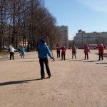 1 июня, бесплатный мастер класс по скандинавской ходьбе в Южно-Приморском парке, Санкт-Петербурга!