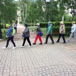Открылась группа скандинавской ходьбы на Васильевском острове в Санкт-Петербурге