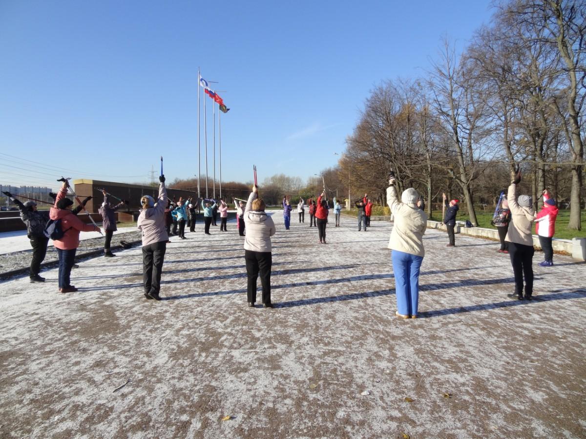 23 февраля, мастер класс по скандинавской ходьбе!Санкт-Петербург