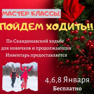 МАСТЕР КЛАССЫ 4,6,8 ЯНВАРЯ Москва
