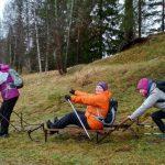 Идет набор в бесплатные группы для занятий скандинавской ходьбой в Санкт-Петербурге.
