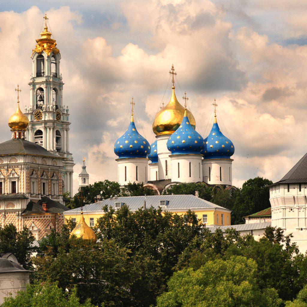 Дорога в Лавру. С 20 по 24 июля. Москва и Московская обл. 120 км.