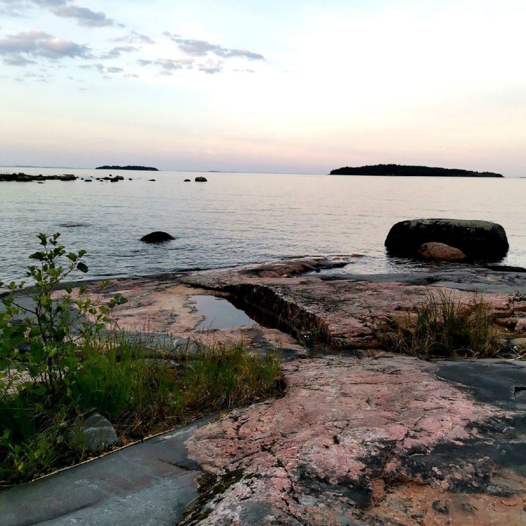17 июля, поход. Ладожские шхеры» вдоль залива «Лехмалахти»